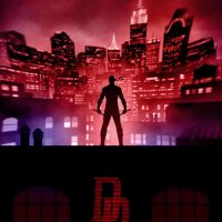 Marvel Knights Presents Daredevil Art Print