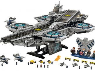Marvel LEGO Super Heroes SHIELD Helicarrier Set 76042