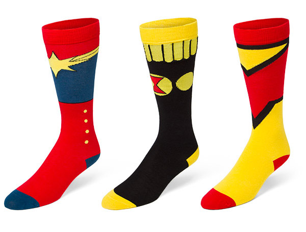 Marvel Ladies Character Boots Knee High Socks
