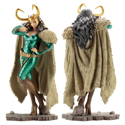 Marvel Lady Loki Bishoujo Statue