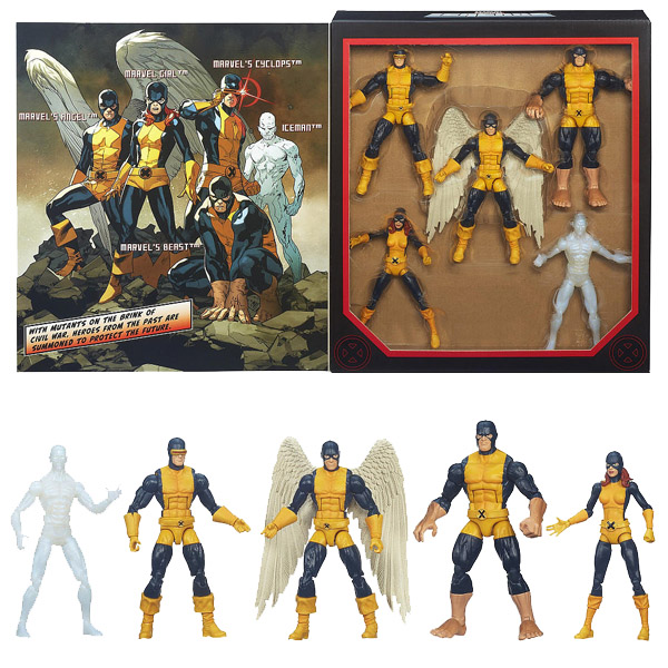 Marvel Legends All New X-Men Set