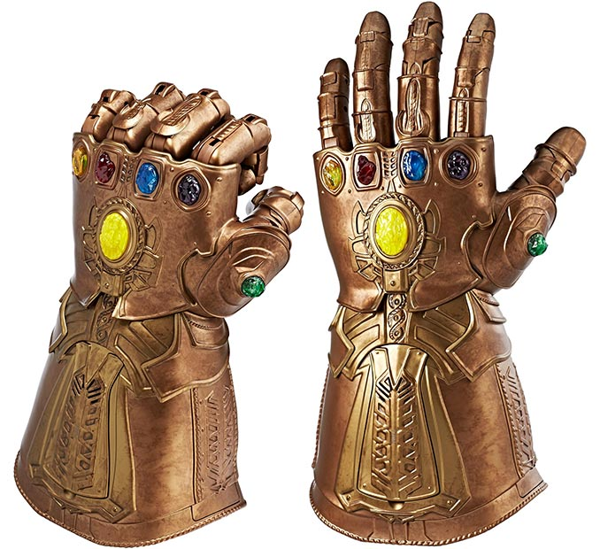 Marvel Legends Articulated Electronic Infinity Gauntlet