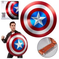 Marvel Legends Captain America 75th Anniversary Metal Shield Prop Replica