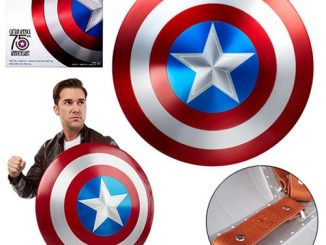 Marvel Legends Captain America 75th Anniversary Metal Shield Prop Replica