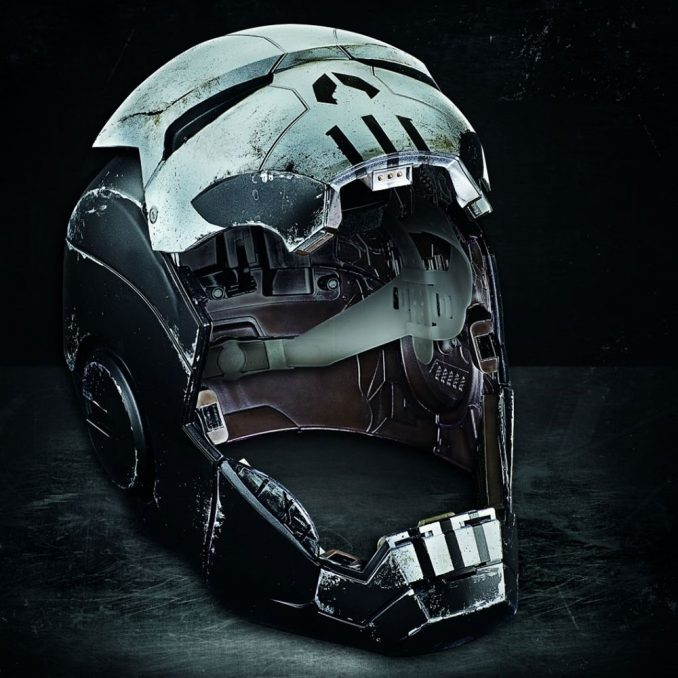 Marvel Legends Gamerverse Punisher War Machine Helmet Prop Replica