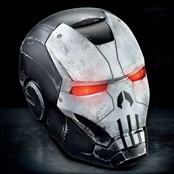 Marvel Legends Punisher War Machine Helmet Prop Replica