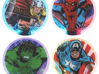 Marvel Lighted Coaster 4-Pack