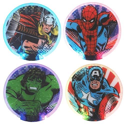 Marvel Lighted Coaster 4-Pack