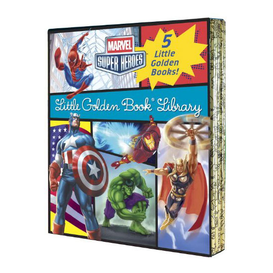 Marvel Little Golden Book Library