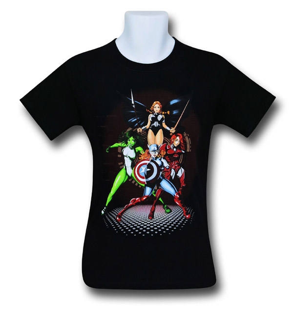 Marvel Maidens T-Shirt