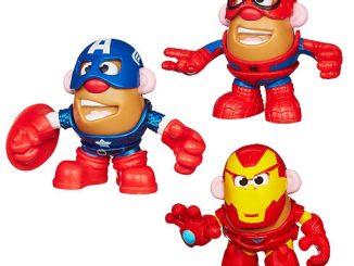 Marvel Mash Ups Mr. Potato Heads Minis Wave 1