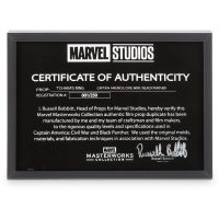 Marvel Masterworks Black Panther T'Chaka Ring Glass Certificate of Authenticity