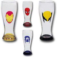 Marvel-Minimal-Mask-Soda-Glass-Set