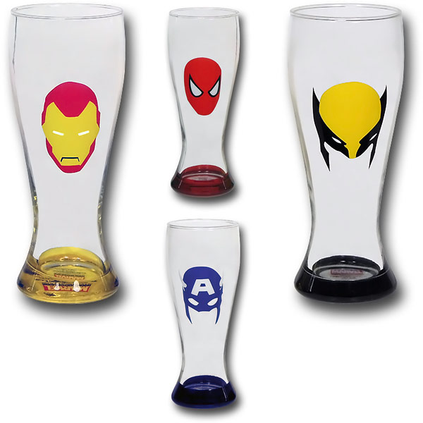 Marvel-Minimal-Mask-Soda-Glass-Set