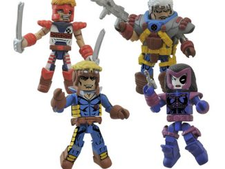 Marvel Minimates Classic X-Force Mini-Figure Box Set
