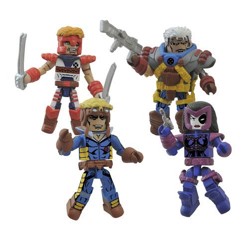Marvel Minimates Classic X-Force Mini-Figure Box Set