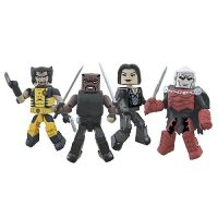Marvel Minimates Curse of the Mutants Box Set