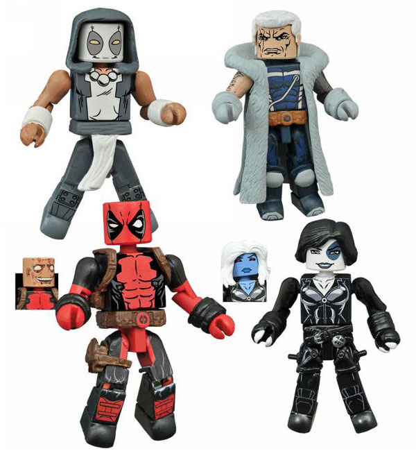 Marvel Minimates Series 65 Deadpool Set