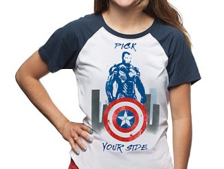 Marvel Pick Your Side Raglan Tee