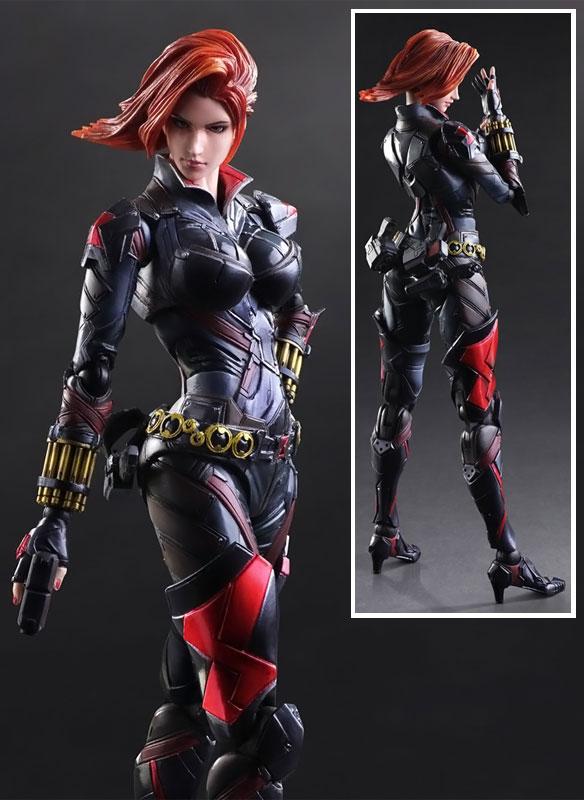 Marvel Universe Black Widow Variant Play Arts Kai Action