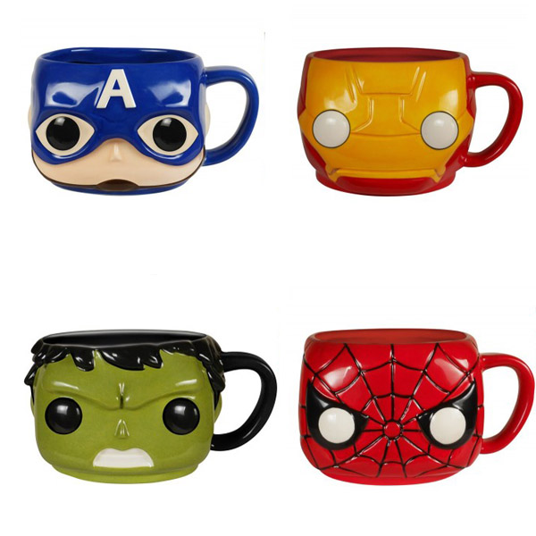 Marvel Pop Home Coffee Mugs