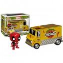 Marvel Pop Ride Deadpools Chimichanga Truck
