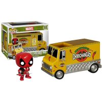 Marvel Pop Ride Deadpools Chimichanga Truck