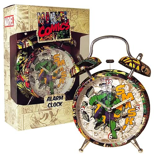 Marvel Retro Collection Hulk Alarm Clock