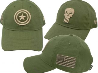 Marvel Salute to Service 9Twenty Adjustable Hats