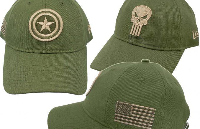 Marvel Salute to Service 9Twenty Adjustable Hats