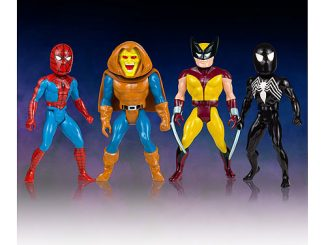 Marvel Secret Wars Micro Bobble Heads Series 1 Set