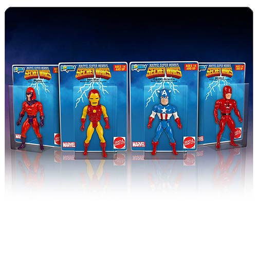 Marvel Secret Wars Micro Bobble Heads Series 2 Set
