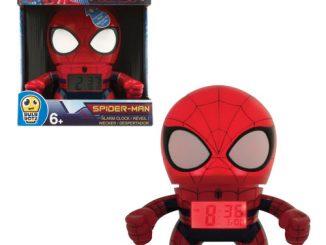 Marvel Spider-Man Bulb Botz Alarm Clock