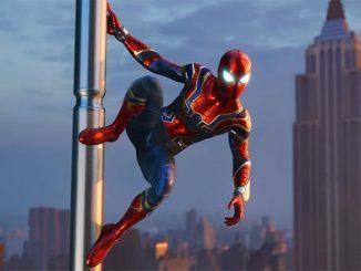 Marvel Spider-Man Iron Spider Suit Revealed