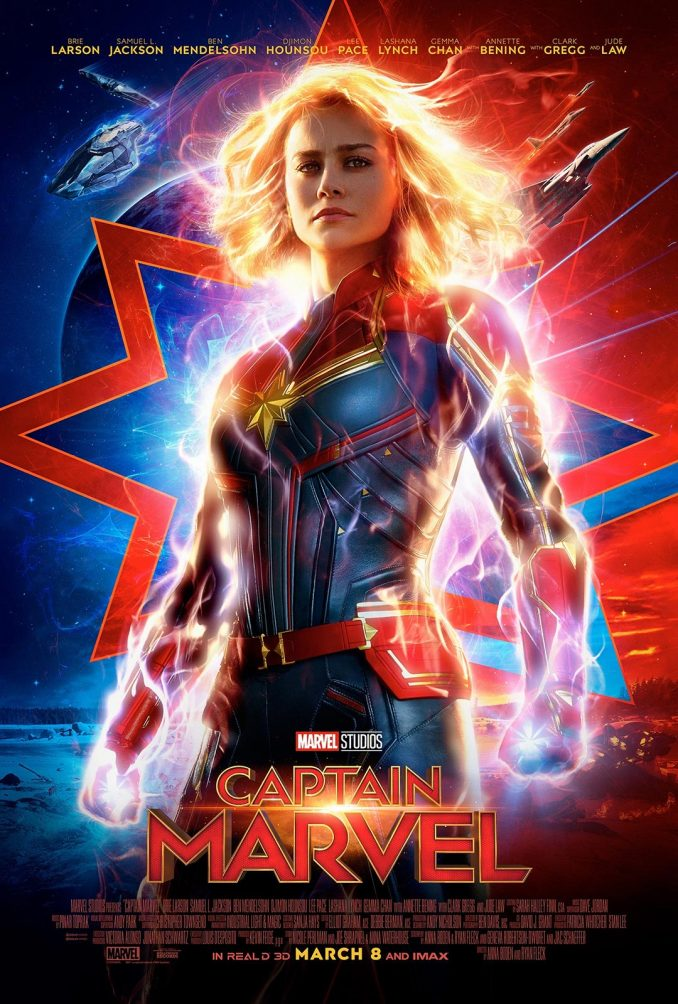 Marvel Studios Captain Marvel Poster