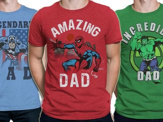 Marvel Superhero Father's Day T-Shirts