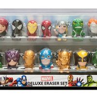 Marvel Superheroes Exclusive Eraser Set
