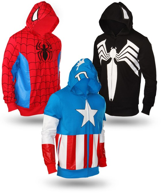 Marvel Superheroes Hoodies