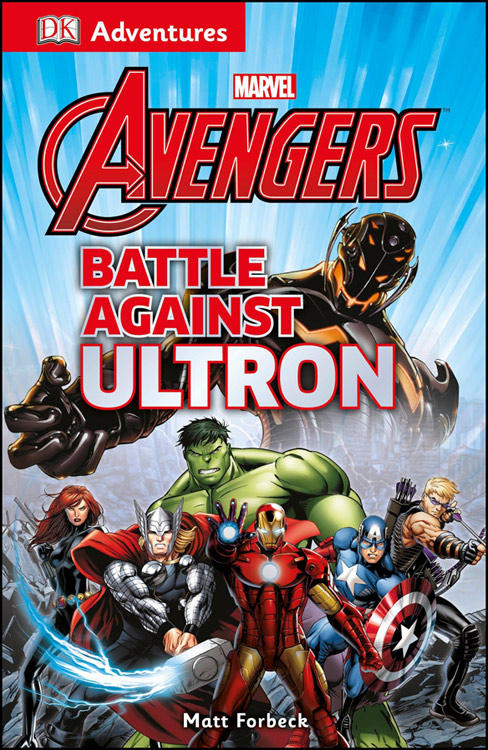 DK Adventures Marvel The Avengers Battle Against Ultron