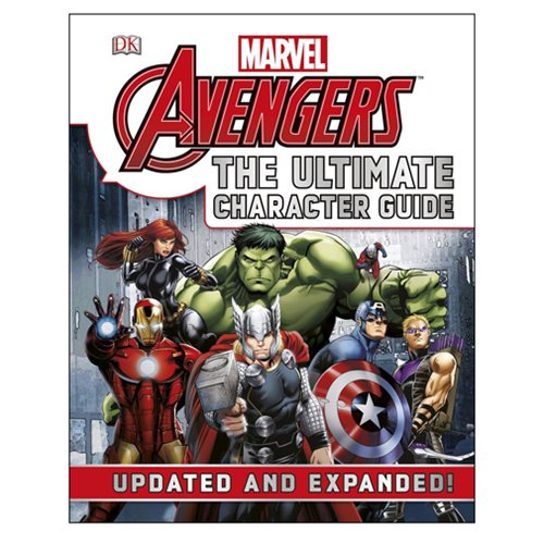Marvel The Avengers The Ultimate Character Guide Hardcover Book