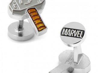 Marvel Thor Mjolnir Hammer Cufflinks
