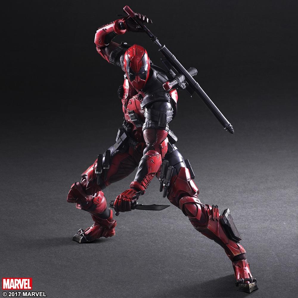 Marvel Universe Deadpool Variant Play Arts Kai Action Figure