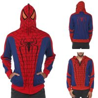 Marvel Universe Spider-Man Full Zip Hoodie