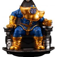 Marvel Universe Thanos on Space Throne Fine Art Scale Statue