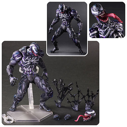 Marvel Universe Venom Variant Play Arts Kai Action Figure