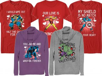 Marvel Valentine's Day T-Shirts