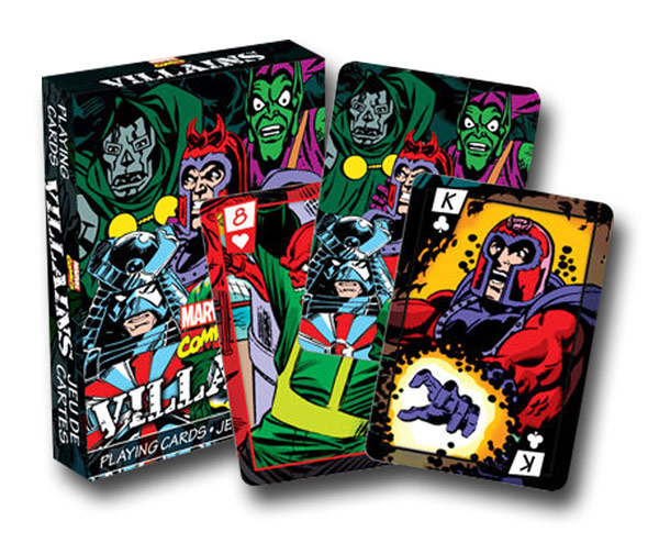 Marvel Villain Playing Cards