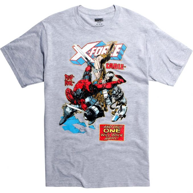 Marvel X-Force Deadpool Vs. Cable T-Shirt