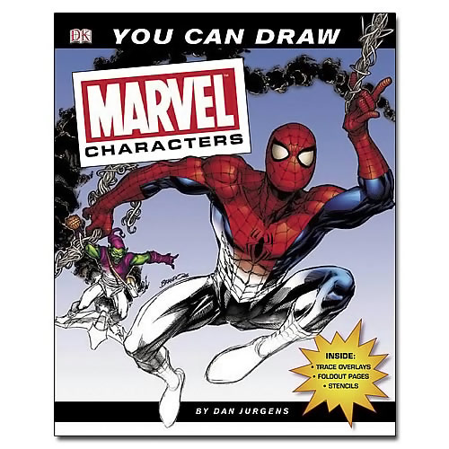 Marvel You Can Draw Marvel Characters Book