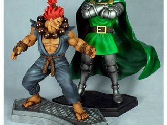 Marvel vs. Capcom 3 Dr. Doom vs. Akuma 1 4 Scale Statues